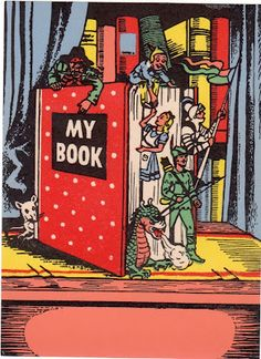 1940s Bookplate re-pinned by: http://sunnydaypublishing.com/books/
