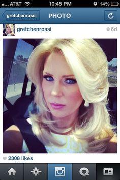 Gretchen Rossi Hair