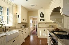 #Creamy #White #Kitchen