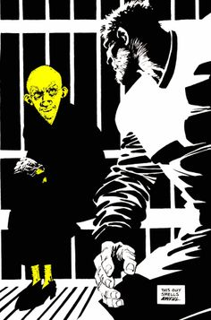 "That Yellow Bastard from ""Sin City"" by Frank Miller"