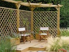Image result for oak pergola with trellis uk