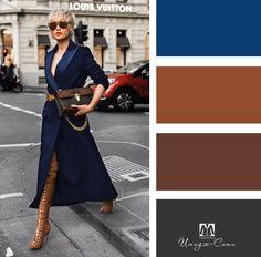 Colour Combinations Fashion, Color Combinations For Clothes, Color Combos, Colour Pallete, Fashion Terms, 40s Fashion, Fashion Outfits, Womens Fashion, Colours That Go Together
