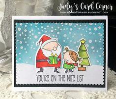Judy's Card Corner: Merry Monday #243: Create a Scene