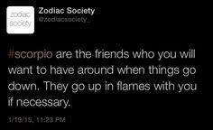 Scorpio zodiac facts  http://zodiacsociety.tumblr.com