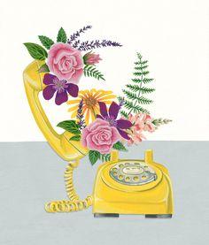The Vintage Modernist - visualgraphc:   Office Plants - Charlotte Day