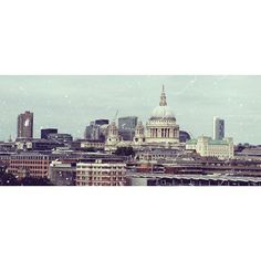 OXO tower view of St . Pauls Cathedral