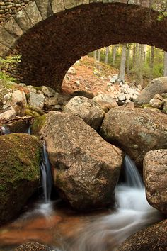 Cobblestone Bridge, Acadia National Park -