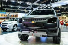 2.8L Chevrolet Trailblazer LTZ At The 36th Bangkok International Motor Show Editorial Stock Image - Image: 52487299