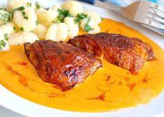 Kuře na paprice trochu jinak Poultry, Stew, Pork, Meat, Dinner, Red Peppers, Bakken, Kale Stir Fry, Dining
