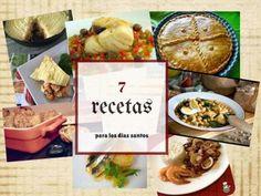 No te pierdas las recetas especiales para estos días de Cuaresma y para Semana Santa que ha reunido en este post la autora del blog BIZCOCHOS Y SANCOCHOS.