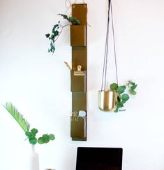 A cool Wall pocket unit that makes the perfect gold brass shelvesA simple yet stylish way to add some storage to any room in the home. These gold brass shelves have an aged gold finish, they can be hung on any wall surface to make an on trend metallic shelves. With a simple yet effective Scandinavian design and a nod to the metallics trend they are functional and stylish.Gold brass effect metalHeight - 88cm Width - 11cm Depth - 6cm