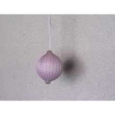Handcrafted ornament is created with a base wrapped with pink and white checkered satin ribbon and capped on the top and bottom with a decorative silver cap. Handcrafted Christmas Ornaments, Handmade Christmas, Fabric Ornaments, Ball Ornaments, Glass Ball, Pink White, Satin, Gifts