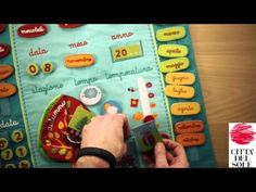 Calendario per bambini universale - YouTube