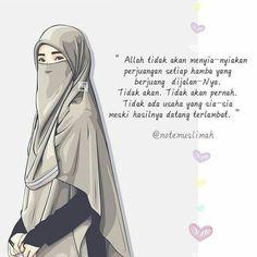 Foto Kartun Muslimah Dan Kata Mutiara Muslim Anime Pinterest