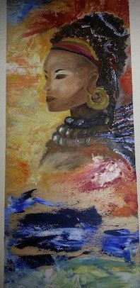 Quadro su Legno dipinto con colori ad Olio di PaintForYouArte su Etsy