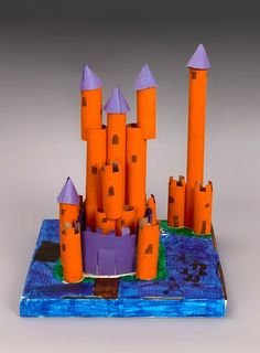 Hear ye, hear ye! Make your own medieval castle with Crayola paint and some creativity.