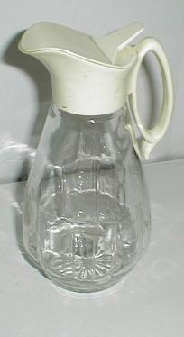 Antique vintage syrup dispenser