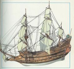 French Galleon