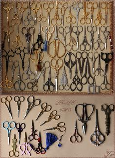 "Okay, sadly this will be me in 20 years. "" I hoard scissors and my name is Julie"".  Is there a scissors anonymous treatment group out there? ha"