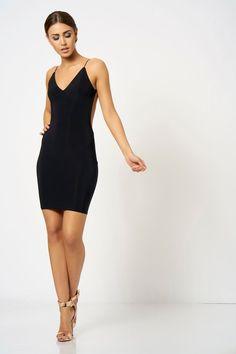 **Knot Back Mini Dress by Club L - Dresses - Clothing - Topshop