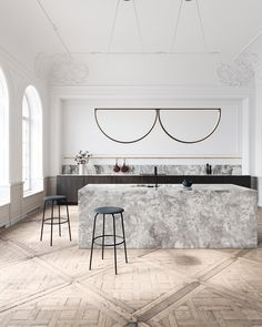 Chord Convoy Pendant and Kitchen design by AlexAllen Studio