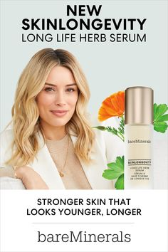 New formula, even better results. Powered by Long Life Herb to prevent and address key visible signs of aging by strengthening your skin. Medium Brunette Hair, Brown Blonde Hair, Cool Blonde Hair Colour, Hair Color, Bare Minerals Skin Care, Beauty Skin, Hair Beauty, Shampoo For Thinning Hair, Honey Hair