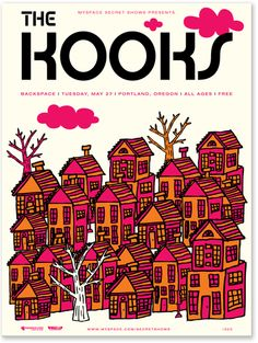 The Kooks - posters - work - tad carpenter