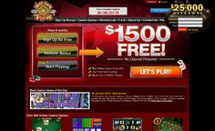 Golden Tiger Casino: $1500 free credits and 60 minutes play >> jackpotcity.co/i/105.aspx