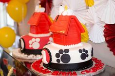 Snoopy & Peanuts Birthday Party Ideas | Photo 17 of 44 | Catch My Party