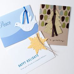 We are a full-service promotional products distributor offering more than brandable products as well as unbranded items. Winter Holidays, Holidays And Events, Happy Holidays, Seed Paper, Wildflower Seeds, Paper Ornaments, Paper Cards, Corporate Gifts, Candy Cane