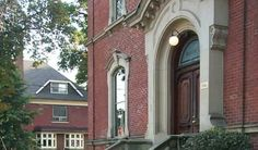 Situated in Toronto, Ontario, the George Brown House offers a lovely option for vintage style weddings. Toronto Wedding, Wedding Venues, Brown House, Downtown Toronto, Mansions, House Styles, Home Decor, Wedding Reception Venues, Wedding Places