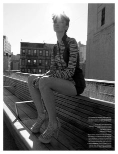 Comprehensive Urban Photoshoots  The Flaunt Magazine 2012 Alexander Editorial is City-Wide