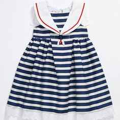 cute stripe baby dress