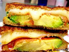 Grown up grilled cheese [this looks delicious]