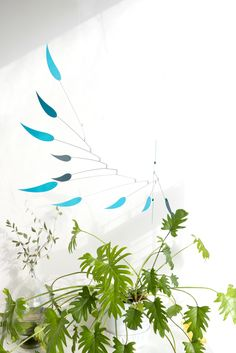 Urban Jungle Bloggers x Etsy: Eucalyptus inspired hanging mobile by @volta_paris