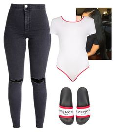 """Untitled #207"" by bigdaddycam43 ❤ liked on Polyvore featuring Boohoo and Givenchy"