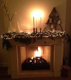 Kerst schouw / Christmas mantle