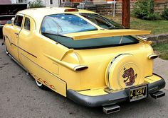 1949 Ford with continental kit
