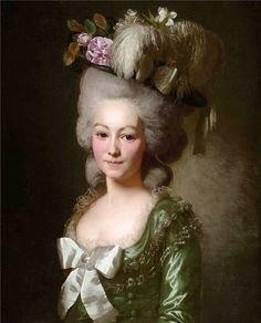 Emilie de Coutances, La Marquise de Bec de Lièvre, 1780 (Alexander Roslin) (1718-1793) Location TBD