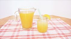 Fresh Peach Lemonade - A Great Summertime Refresher! - One Good Thing by Jillee