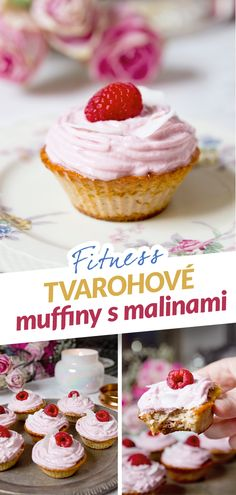 Healthy Desserts, Muffins, Cheesecake, Food And Drink, Yummy Food, Breakfast, Fitness, Recipes, Health Desserts