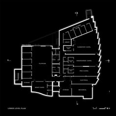 Korean Presbyterian Church,Lower Floor Plan