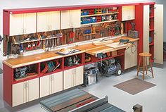 One-Wall Workshop - Woodworking Plan