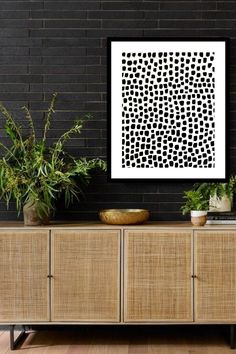 Hanging Picture Frames, Hanging Pictures, Black And White Wall Art, Black Walls, Earthy Home Decor, Union City, Trendy Home, Logo Design Inspiration, Modern Interior Design