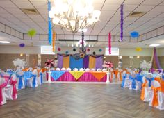 Sweet 16 Party Decor
