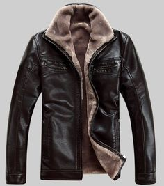 Spring Men Fashion New Pu Leather Jackets Coats Mens Autumn Stand Collar Smart Casual Overcoats Outwear Size M-4xl Catalogues Will Be Sent Upon Request Jackets & Coats