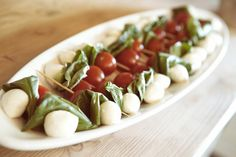 Caprese skewers - light refreshing appetizers the mad platter kitchen pop up events