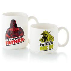 Darth Vader™ and Yoda™ Mug Set