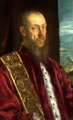 Portrait of Vincenzo Morosini JACOPO ROBUSTI, noto come il TINTORETTO (Venezia, 29 aprile 1519 – Venezia, 31 maggio 1594) #TuscanyAgriturismoGiratola