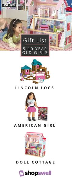 Kids of all ages will want these doll houses, building sets and toys! This list has over 30 suggestions every young girl will adore.